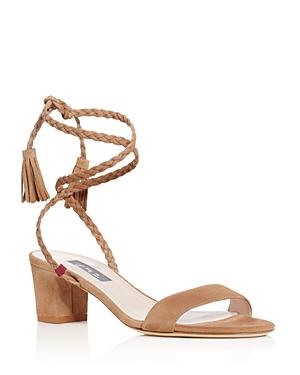 Sjp by Sarah Jessica Parker Elope Ankle Tie Block Heel Sandals