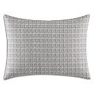 "Vera Wang Allover Embroidered Decorative Pillow, 15"" x 20"""