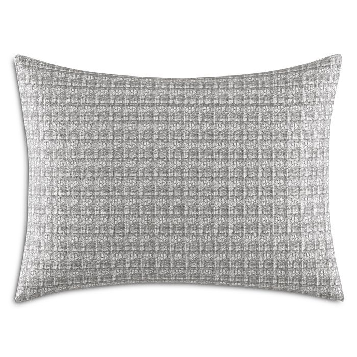 """Vera Wang - Allover Embroidered Decorative Pillow, 15"""" x 20"""""""