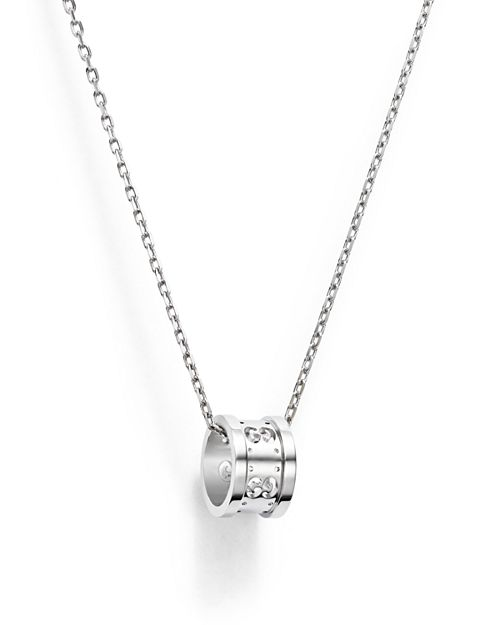 e66e7d9f6 Gucci Icon Twirl 18k White Gold Pendant Necklace - Pendant Design Ideas