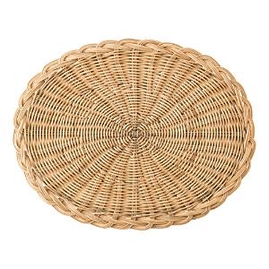 Juliska Braided Basket Oval Natural Placemat