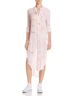 Free People Happiest Morning Button-Down Tunic