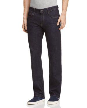 MAVI JEANS Zach Straight Fit Jeans In Williamsburg in Rinse Williamsburg
