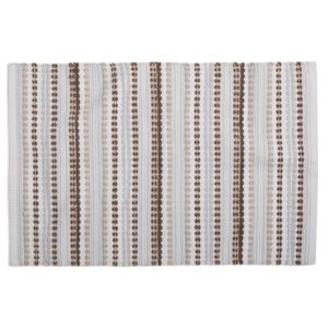 Coyuchi Palm Canyon Organic Cotton Bath Rug