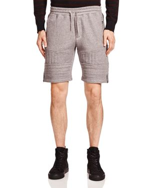 The Kooples Patch Classic Fleece Shorts
