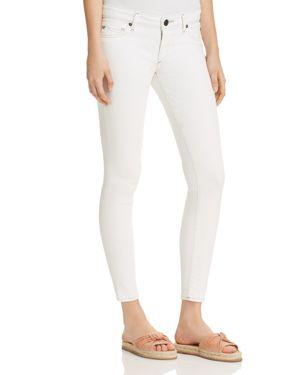 True Religion Casey Super Skinny Jeans in Optic White