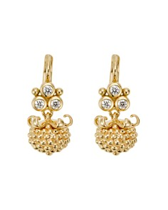 Temple St. Clair 18K Yellow Gold Mini Pod Drop Earrings with Diamonds - Bloomingdale's_0