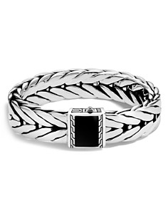 John Hardy Sterling Silver Modern Chain Extra Large Bracelet with Black Onyx - Bloomingdale's_0