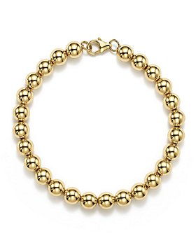 Bloomingdale's - 14K Yellow Gold Beaded Bracelet - 100% Exclusive