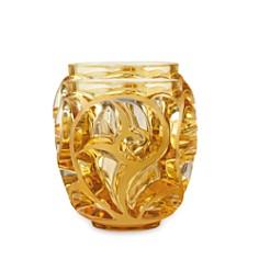 Lalique - Tourbillons Small Amber Vase