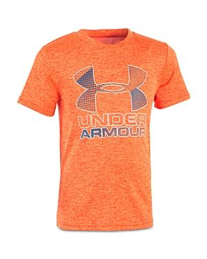 Under Armour Boys' Big Logo Tech Tee - Little Kid, Big Kid