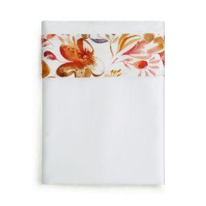 Sferra Este Flat Sheet, Full/Queen