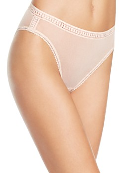 On Gossamer - Mesh High-Cut Briefs
