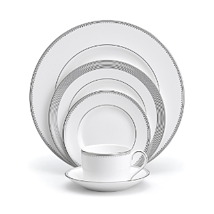 vera wang vera wang wedgwood grosgrain 5 piece place setting