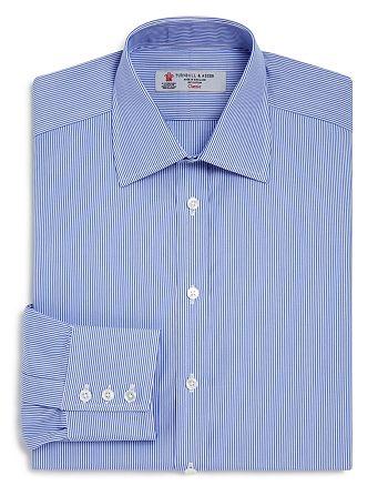 Turnbull & Asser - Bengal Stripe Regular Fit Dress Shirt