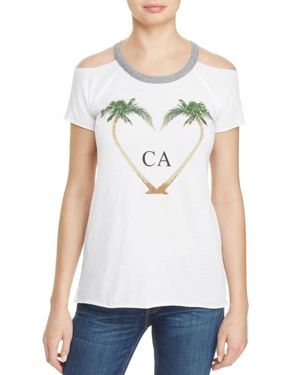 Chaser Cold Shoulder Cali Tee - 100% Exclusive