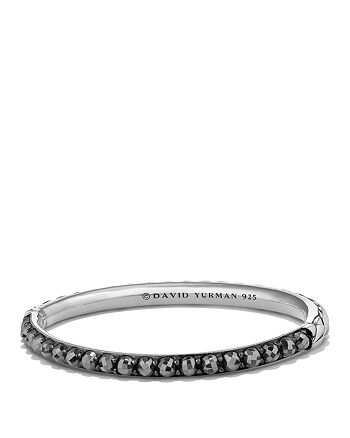 David Yurman - Cable Berries Bangle Bracelet with Hematine