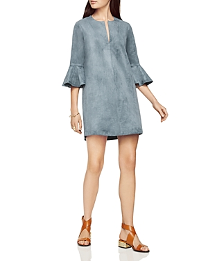 Bcbgmaxazria Faux Suede Mini Dress