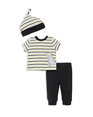 Offspring Boys' Dino Tee, Pants & Hat Set - Baby