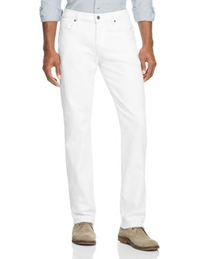 7 For All Mankind Luxe Sport Slimmy Slim Fit Jeans in White