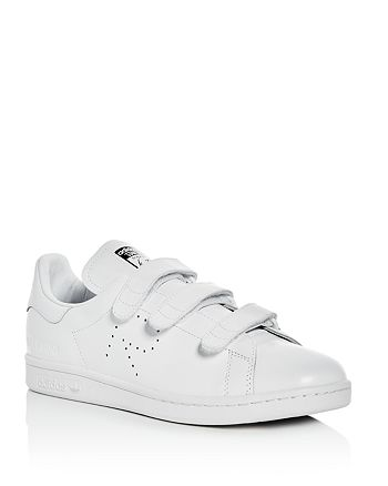 official photos 48b66 81c46 Raf Simons for Adidas Men's Stan Smith Triple Strap Sneakers ...