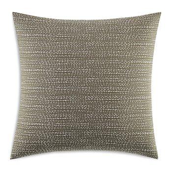 "Vera Wang - Continuous Stitching Decorative Pillow, 18"" x 18"""