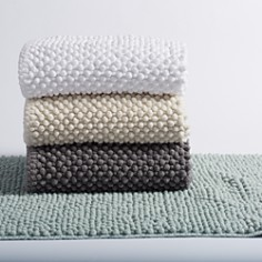 "Coyuchi - Pebbled Chenille Organic Cotton Bath Rug, 30"" x 72"""