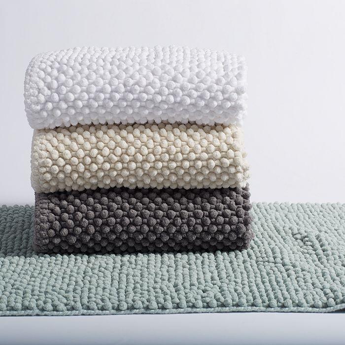 Coyuchi - Pebbled-Chenille Organic Cotton Bath Rug Collection