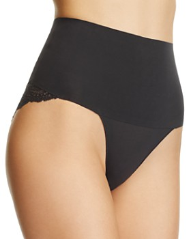 SPANX® - Undie-tectable Lace Cheeky Hi-Waist Briefs