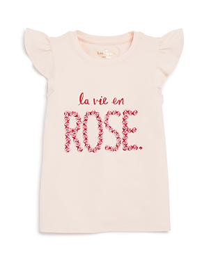 kate spade new york Girls' La Vie En Rose Tee - Little Kid