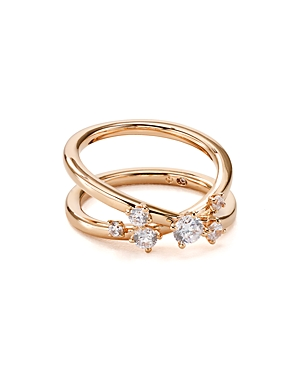 Nadri Double Band Ring