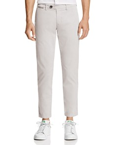 Eleventy - Cropped Regular Fit Chino Pants
