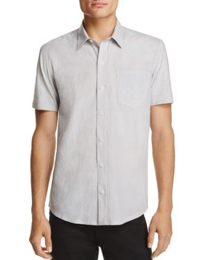 Wrk Reworked Geometic Regular Fit Button-Down Shirt - 100% Exclusive