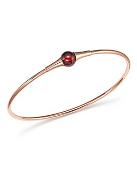 Pomellato - M'Ama Non M'Ama Bracelet with Garnet in 18K Rose Gold