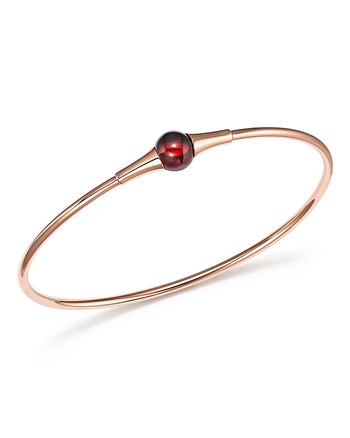Pomellato - M'Ama Non M'Ama Bracelet with Garnet in 18K Rose Gold
