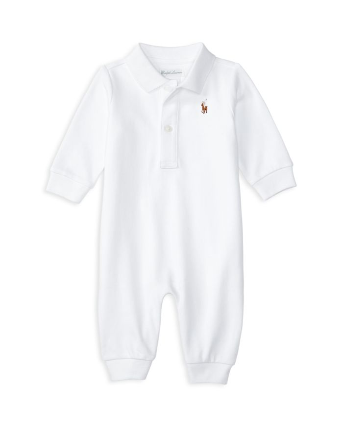 Ralph Lauren Boys' Polo Coverall - Baby  | Bloomingdale's