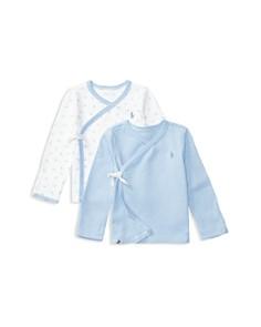 Ralph Lauren Boys' Interlock Kimono Top, Set of 2 - Baby - Bloomingdale's_0