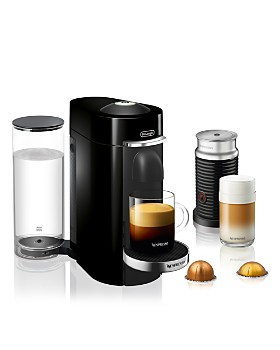 Nespresso - VertuoPlus Deluxe Coffee and Espresso Machine Bundle by De'Longhi