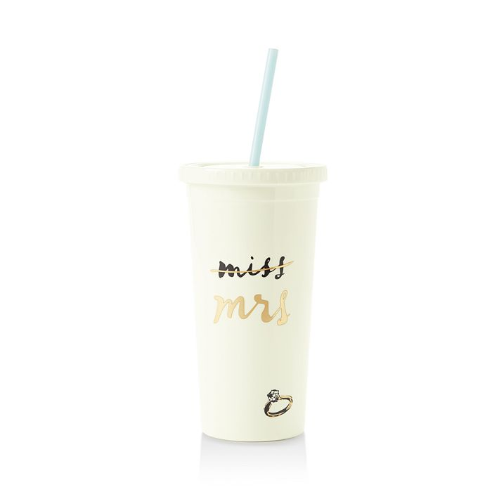 a7285cdf05f63 kate spade new york - Miss to Mrs Tumbler with Straw