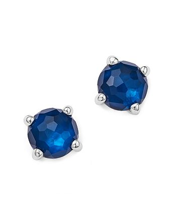 IPPOLITA - Rock Candy® Mini Stud Earrings in Midnight