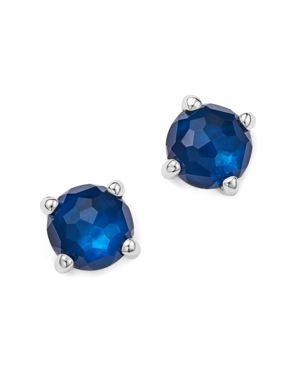 Ippolita Rock Candy Mini Stud Earrings in Midnight