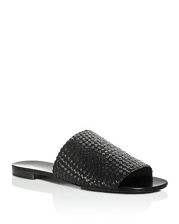 cc3a8a9e9ace Michael Kors - Women s Byrne Woven Slide Sandals