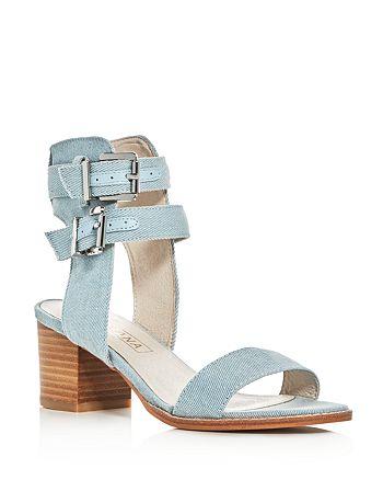 Sol Sana - Women's Porter Denim Ankle Strap Sandals