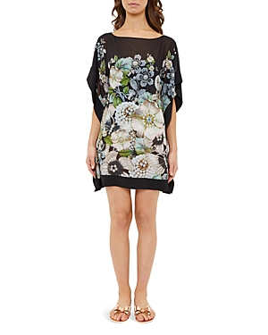 Ted Baker Gem Gardens Tunic Swim Cover-Up
