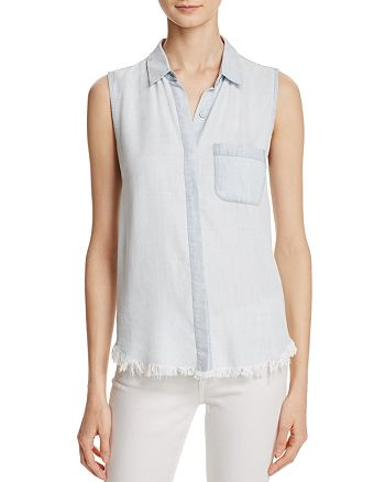 DL1961 - N. 7th & Kent Sleeveless Button Down Shirt