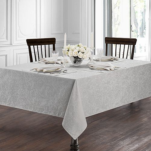 """Waterford - Peony Tablecloth, 70"""" x 104"""""""