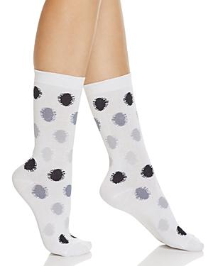 Hue Solid Femme Floral Top Socks