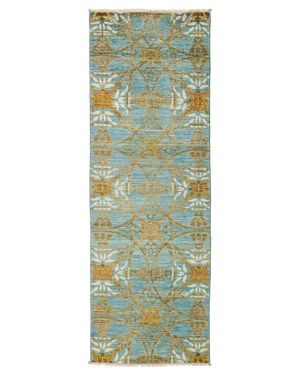 Solo Rugs Suzani Runner Rug, 2'7 x 8'3