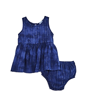 Splendid Girls' Tie Dye Stripe Dress & Bloomers Set - Baby