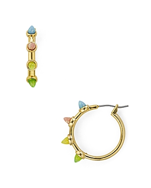 Rebecca Minkoff Rainbow Spear Hoop Earrings